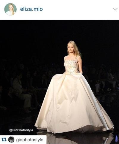 Repost Modella Eliza Mio - Sposa Italia - GioPhotoStyle - Giovanna Galleno - 21mag16